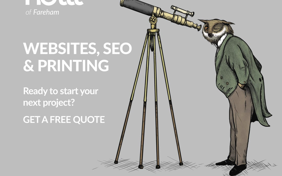 Need a new website, print or SEO?