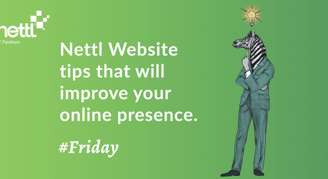 Top Tips From Our Web Design Team