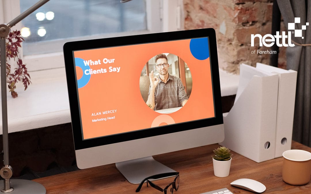 The importance of a professional looking website