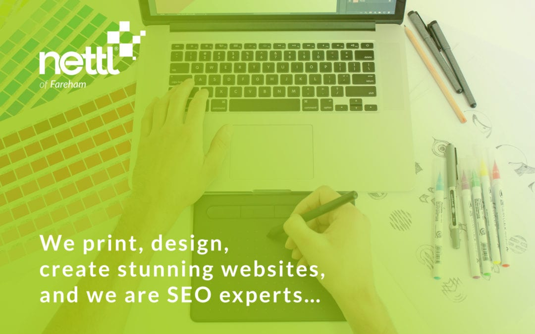 We print, design, create stunning websites, and we are SEO experts…